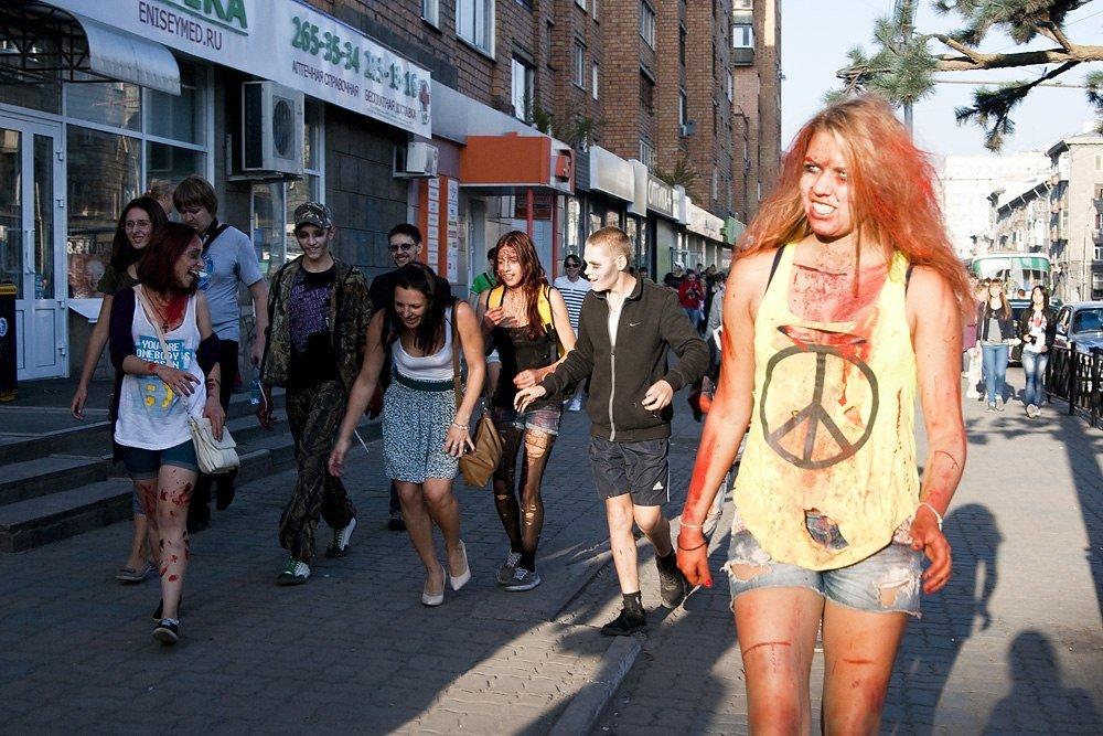 Лучшие фотографии с красноярского зомби-парада | Канобу - Изображение 5