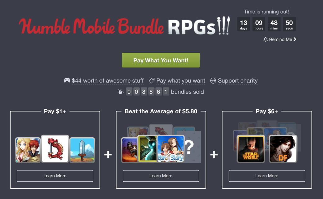 На Humble Bundle за копейки отдают крутые RPG для Android   Канобу - Изображение 12955