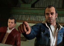Гифка дня: странная ходьба повоздуху вGrand Theft Auto5