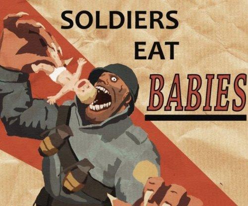 Первый канал спутал плакат Team Fortress 2 с военной пропагандой США