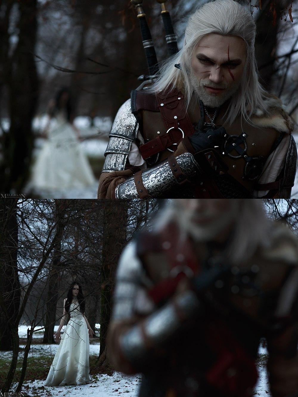 Геральт ибрукса вновом чудесном косплее по«Ведьмаку». - Изображение 2