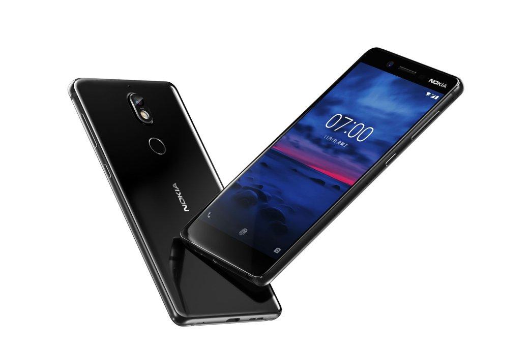 Представлен Nokia 7: премиальный дизайн за 20 000 рублей. - Изображение 1