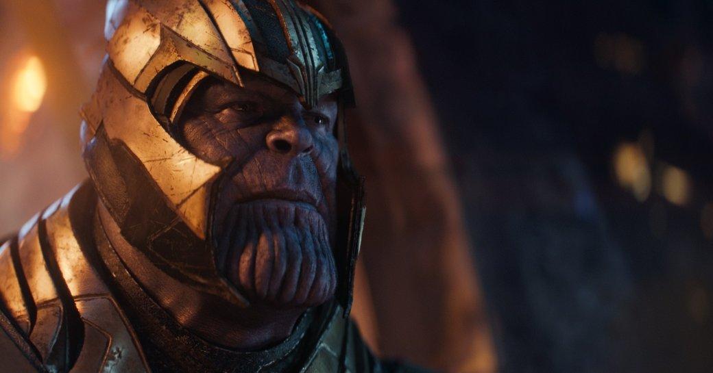 Танос глумится над супергероями