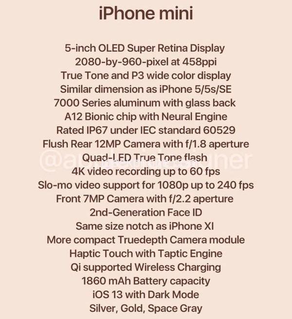 Слух: iPhone mini — новое название iPhone SE 2   Канобу - Изображение 3152