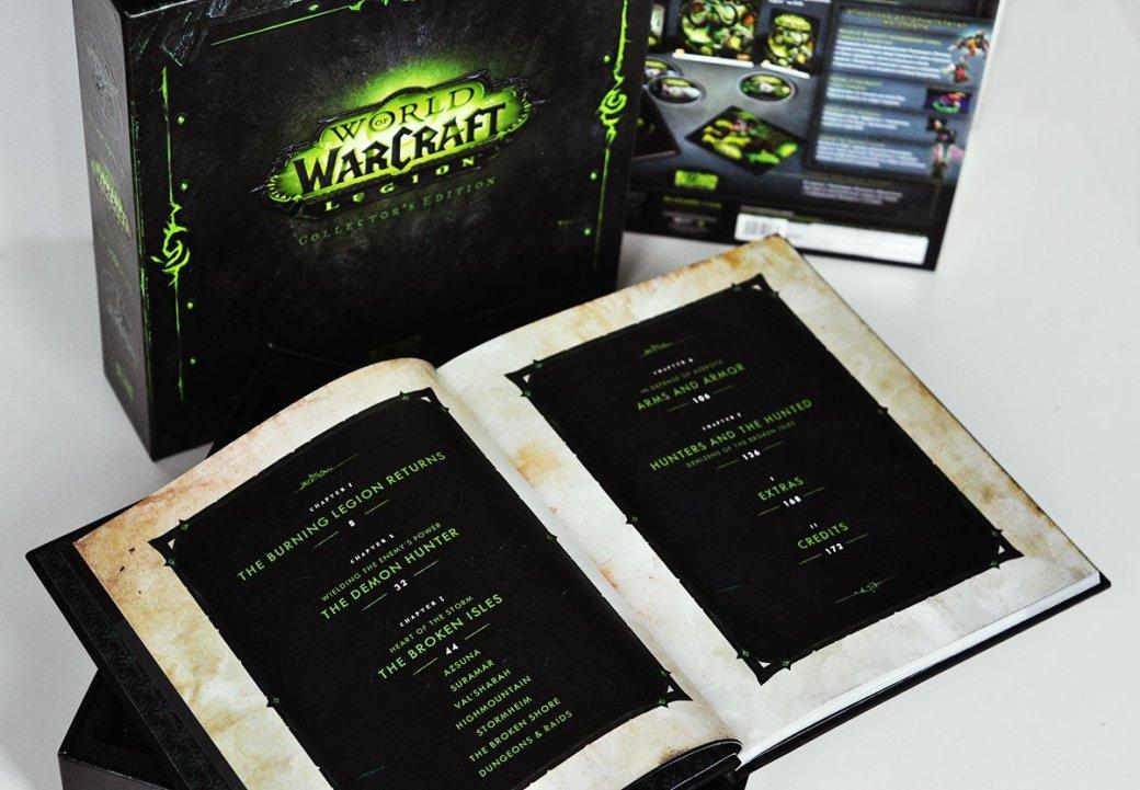 Распаковка коллекционного издания World ofWarcraft: Legion. С котом! | Канобу - Изображение 6