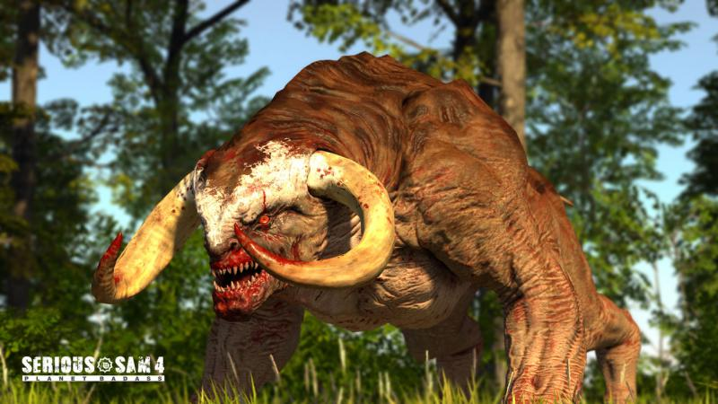 СЕМЕЧКИ на новых скриншотах Serious Sam 4: Planet Badass. Сэм заглянет в наши края?. - Изображение 3