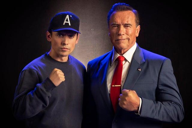 Напервом фото сосъемок Kung Fury 2 Арнольд Шварценеггерстал президентом США   Канобу - Изображение 7716