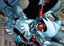 Гибрид Человека-паука иЛунного рыцаря— какова его история визмененной вселенной Marvel?