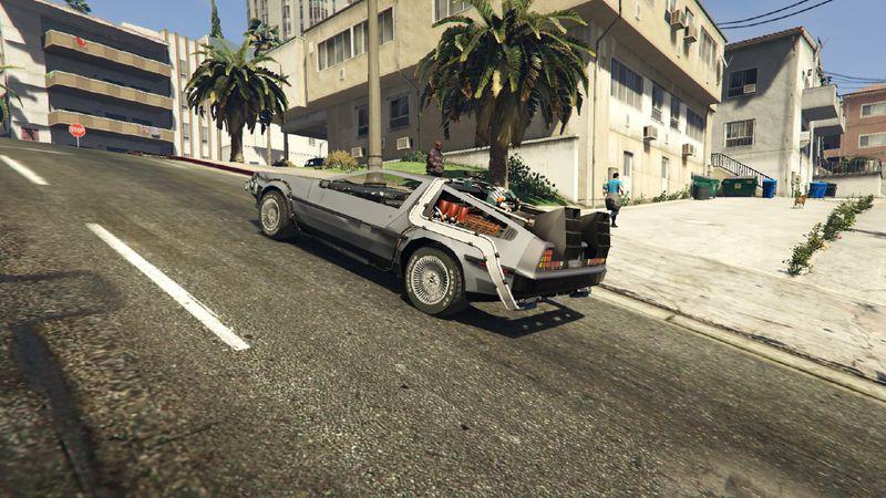 Гифка дня: очень странная версия «Назад вбудущее» вGrand Theft Auto5 | Канобу - Изображение 0