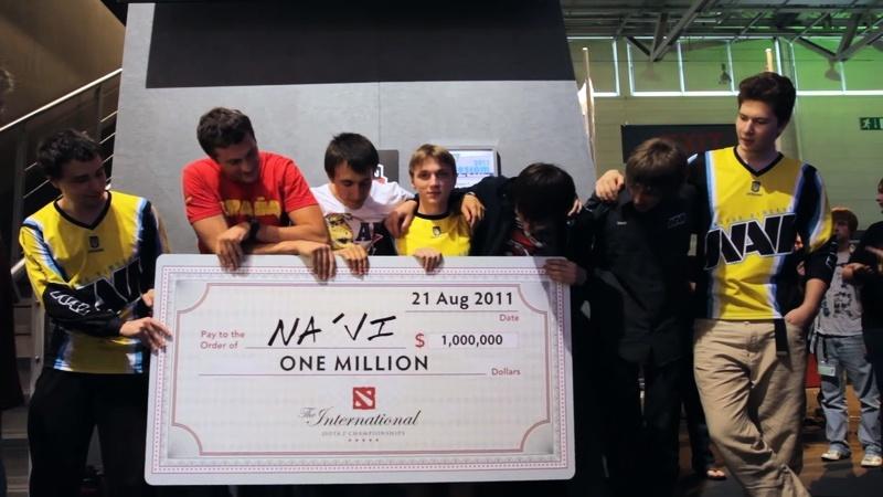 Киберспорт в СНГ: команда NAVI с выигрышем