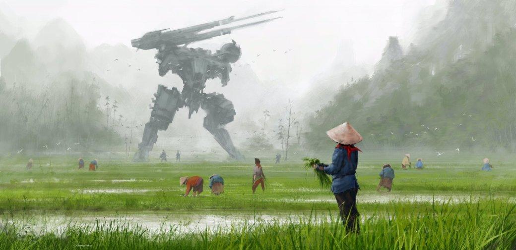 Замечательные фанарты к31-летию Metal Gear отрежиссера ееэкранизации | Канобу - Изображение 5