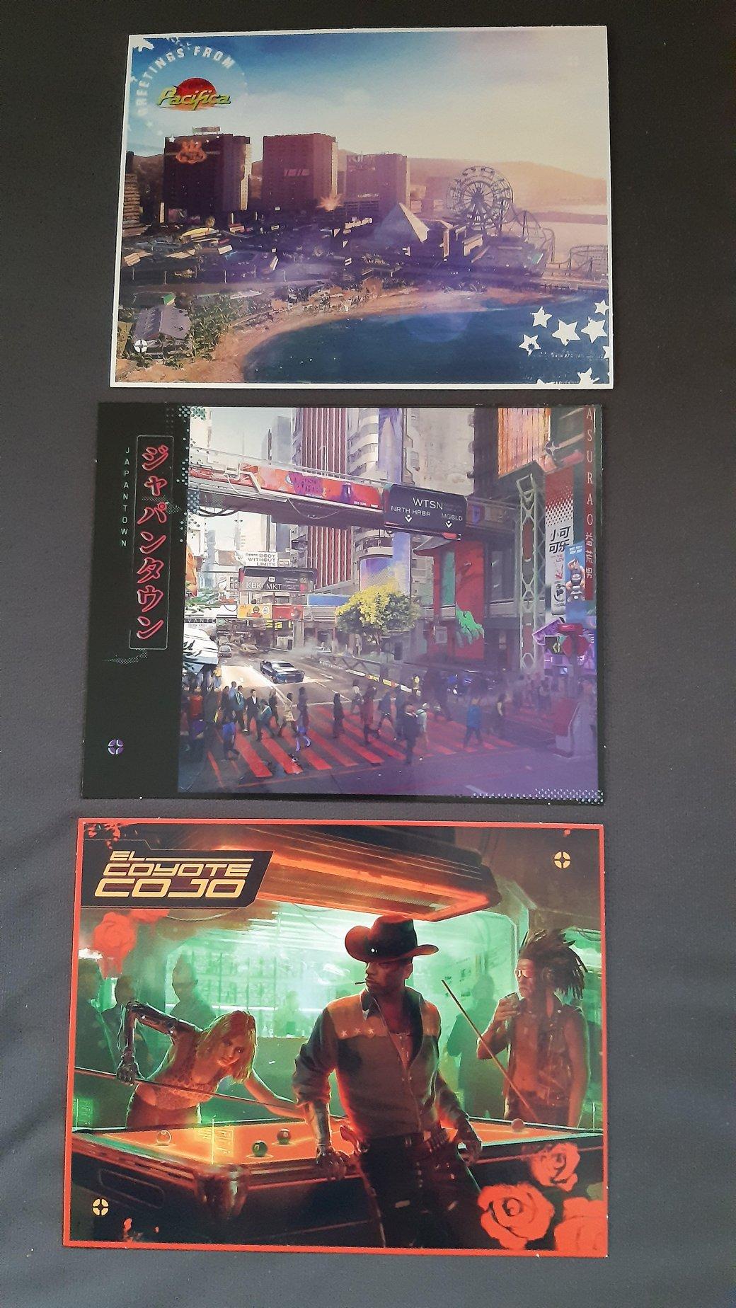 Материалы коллекционного издания Cyberpunk 2077 попали в сеть. В том числе карта Найт-Сити | Канобу - Изображение 6706