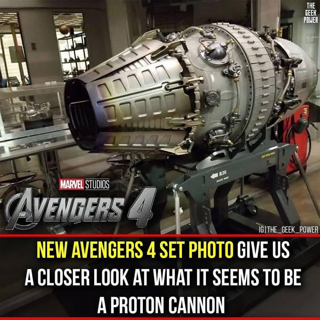 Новое фото сосъемок «Мстителей 4» демонстрирует мощнейшее оружие Железного человека? | Канобу - Изображение 2