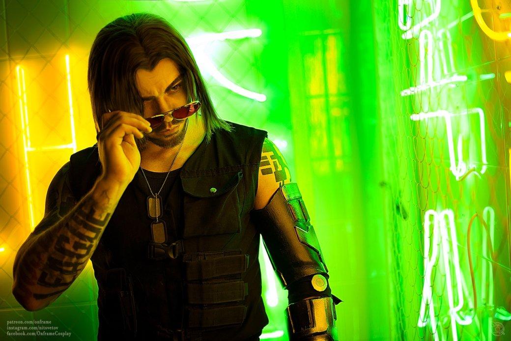 Захватывающий дух косплей персонажа Киану Ривза изCyberpunk 2077 | Канобу - Изображение 1