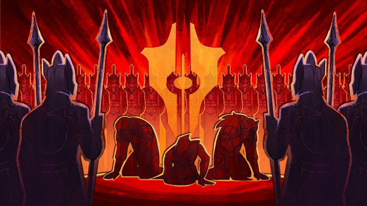 Уменя никогда неполучалось отыгрывать злого персонажа вRPG. Вопределенный момент совесть начинала настойчиво требовать, чтобы япоступал «по-доброму». Витоге мой злобный владыка тьмы иначальник преисподней всегда превращался вдобрую фею из«диснеевских» мультфильмов. Авот сTyranny всевышло иначе. Новая RPG отObsidian очень быстро дала мне понять, что нет никакого добра изла— есть только выитолпа людей, которым отвас постоянно что-то нужно. Их всех выскоро возненавидите всем сердцем.