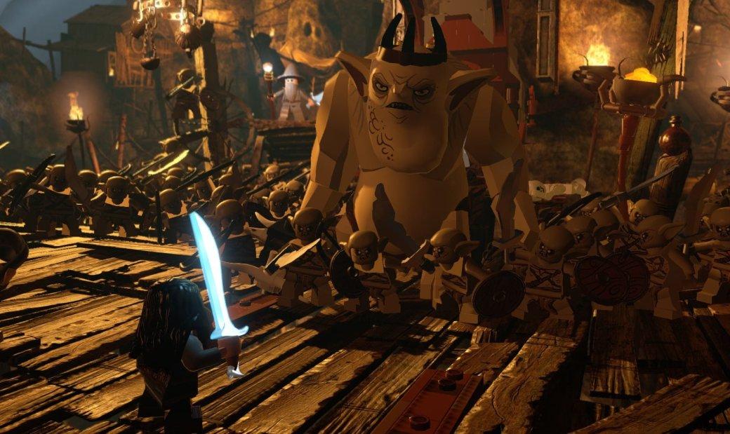 Lego The Hobbit похожа на все прошлые Lego-игры, но все равно увлекает | Канобу - Изображение 2
