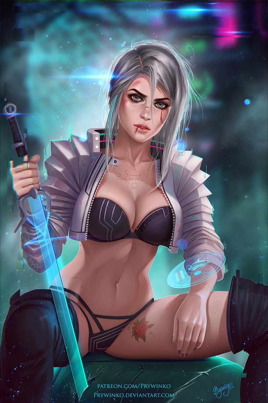 Галерея. Крутейший фанарт по«Ведьмаку», откоторого сразуже хочется перепройти трилогию игр | Канобу - Изображение 6269