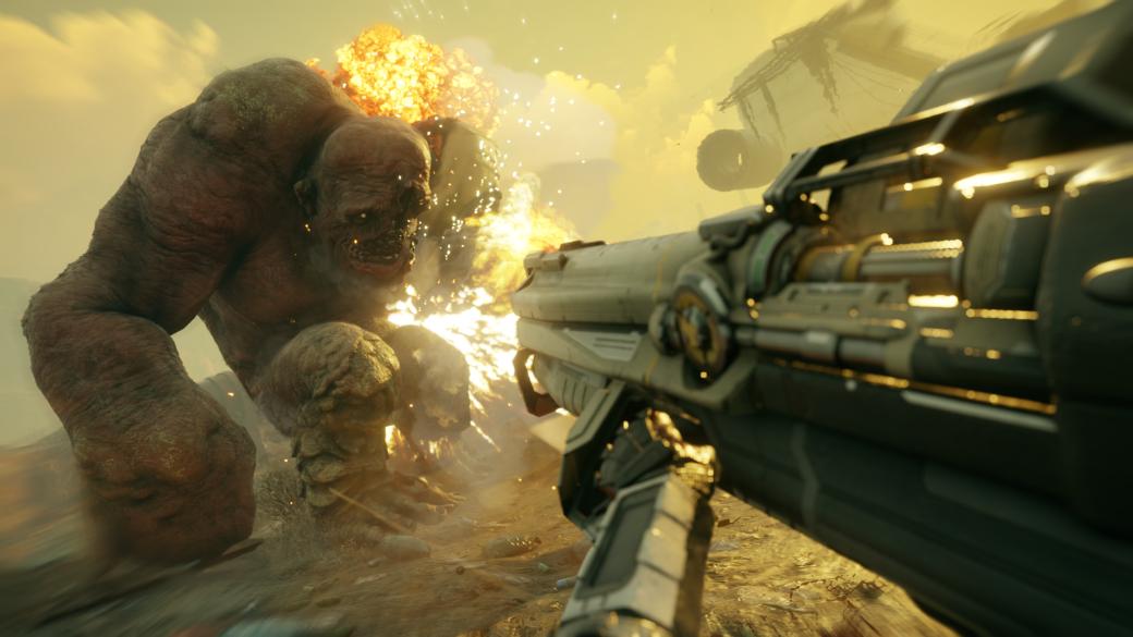 BFG 9000, гравитационная пушка иполчища мутантов: 11 минут геймплея Rage2 | Канобу - Изображение 1