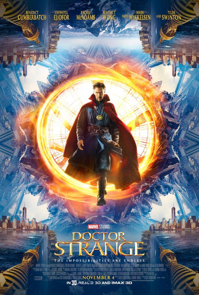 Второй трейлер «Доктора Стрэнджа» еще сильнее напоминает «Начало» | Канобу - Изображение 3199