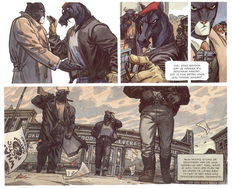 Комикс недели: Blacksad | Канобу - Изображение 3
