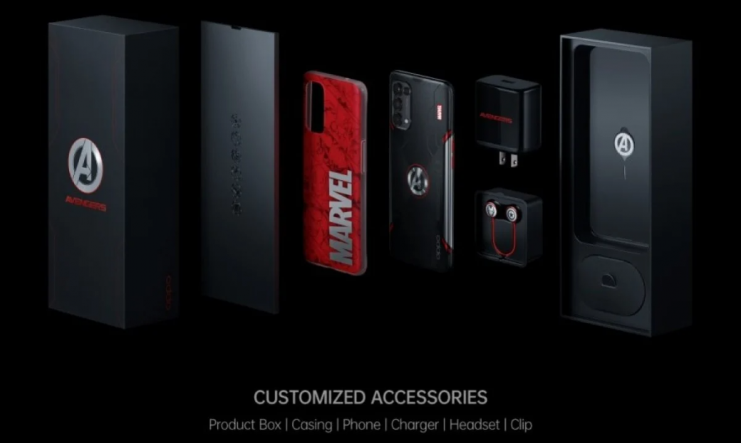 Oppo выпустила смартфон для фанатов Marvel и«Мстителей»