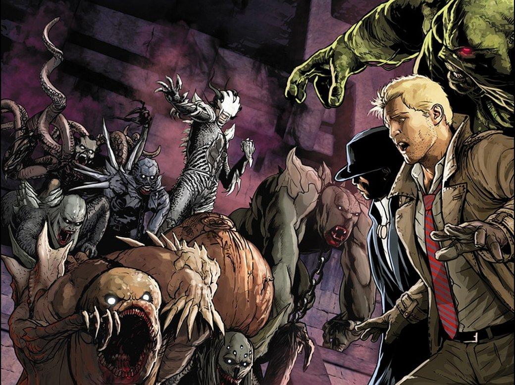 Обзор сценария «Темной Лиги справедливости» Гильермо Дель Торо. Константин и немного хорошего экшена