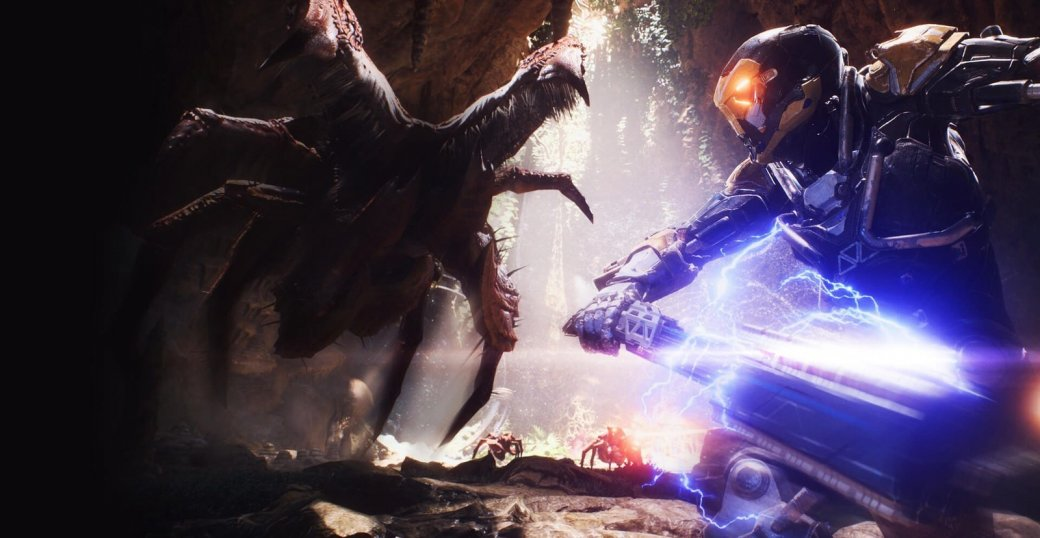Разработчики Anthem заявили, что финал игры будет открытым. Главная цель— прокачка джавелинов | Канобу - Изображение 1