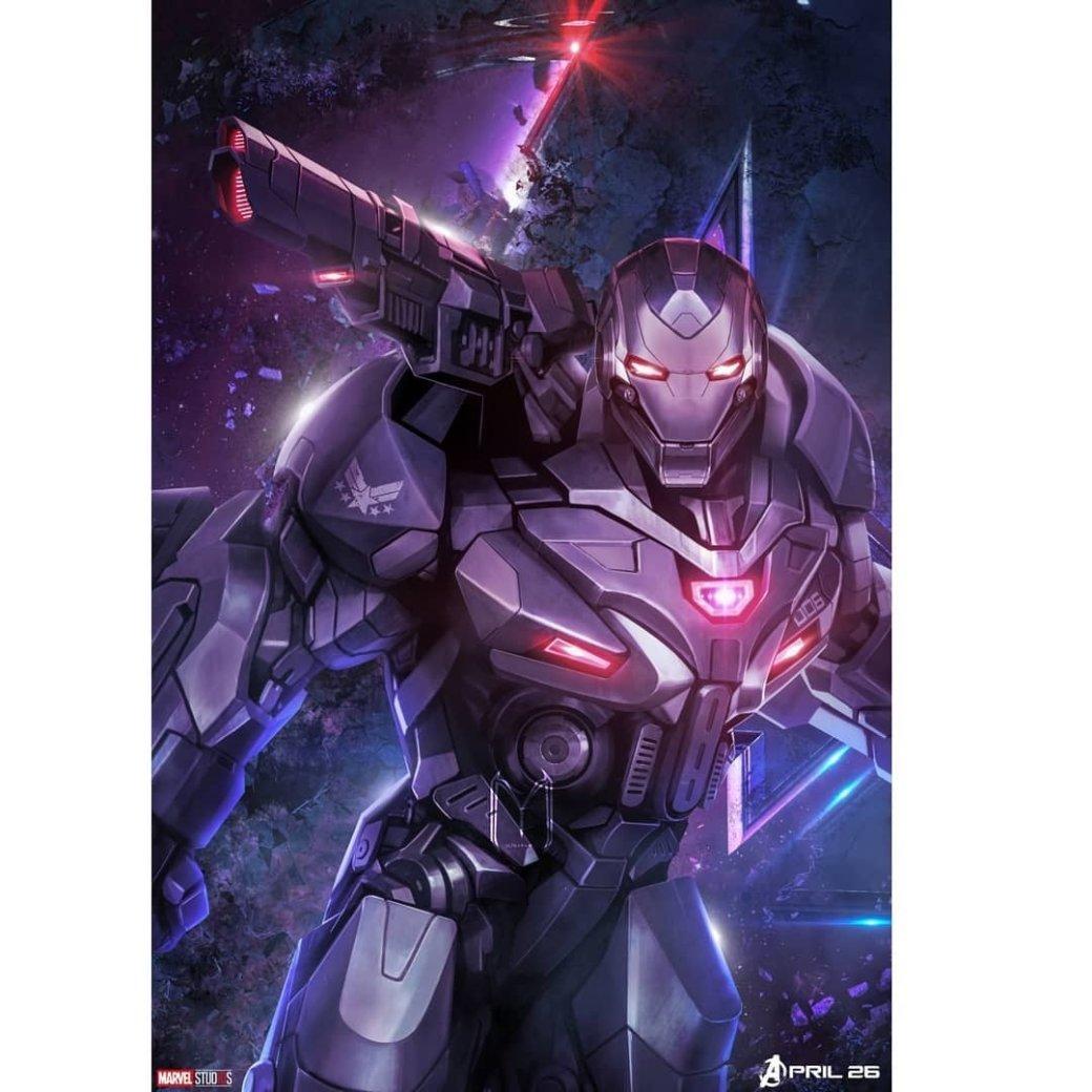 Очень много новых промо-артов по«Мстителям: Финал» (есть даже сновой броней Таноса!)   Канобу - Изображение 6373