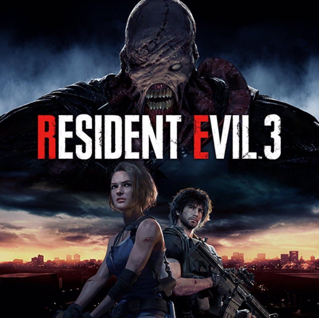 Фанаты Resident Evil 3 недовольны, что у Немезиса появился нос. Обложку ремейка уже исправили | Канобу - Изображение 0