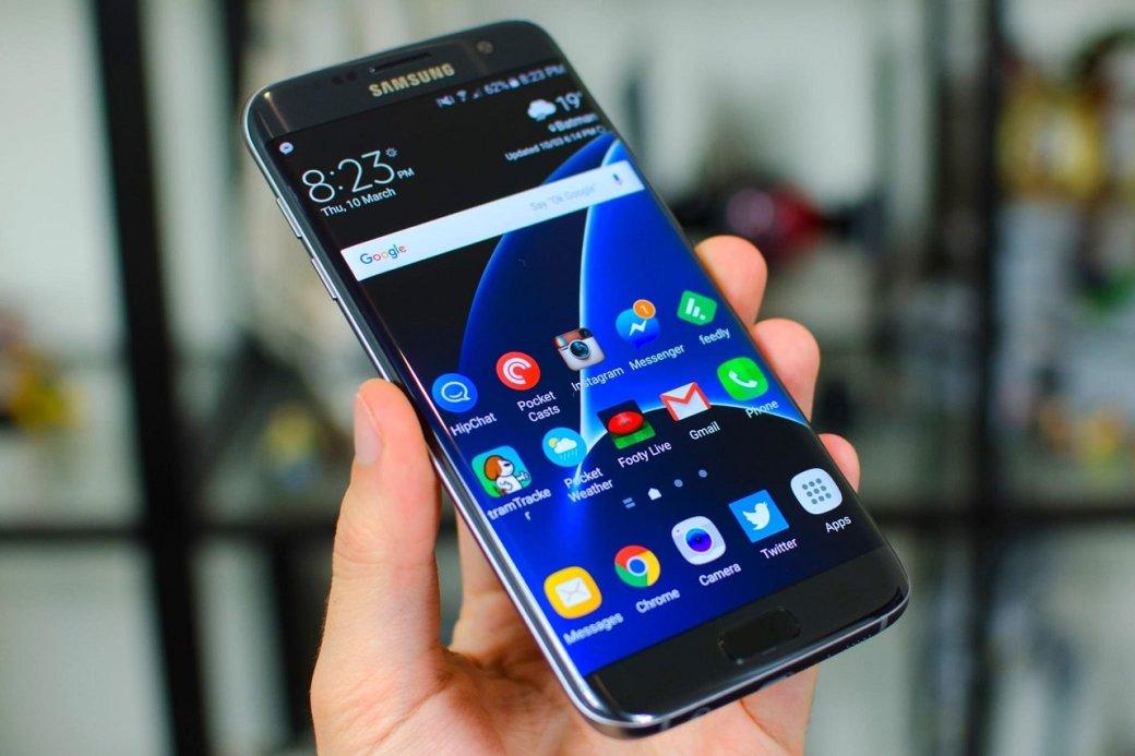 Samsung возродит серию Galaxy Edge: новый дисплей сизогнутыми краями получит Galaxy S10   Канобу - Изображение 2628