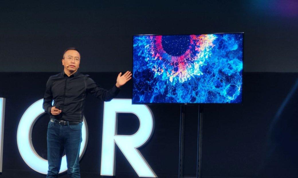 Huawei представила первое устройство насвоей Harmony OS— телевизор Honor Vision | Канобу - Изображение 1