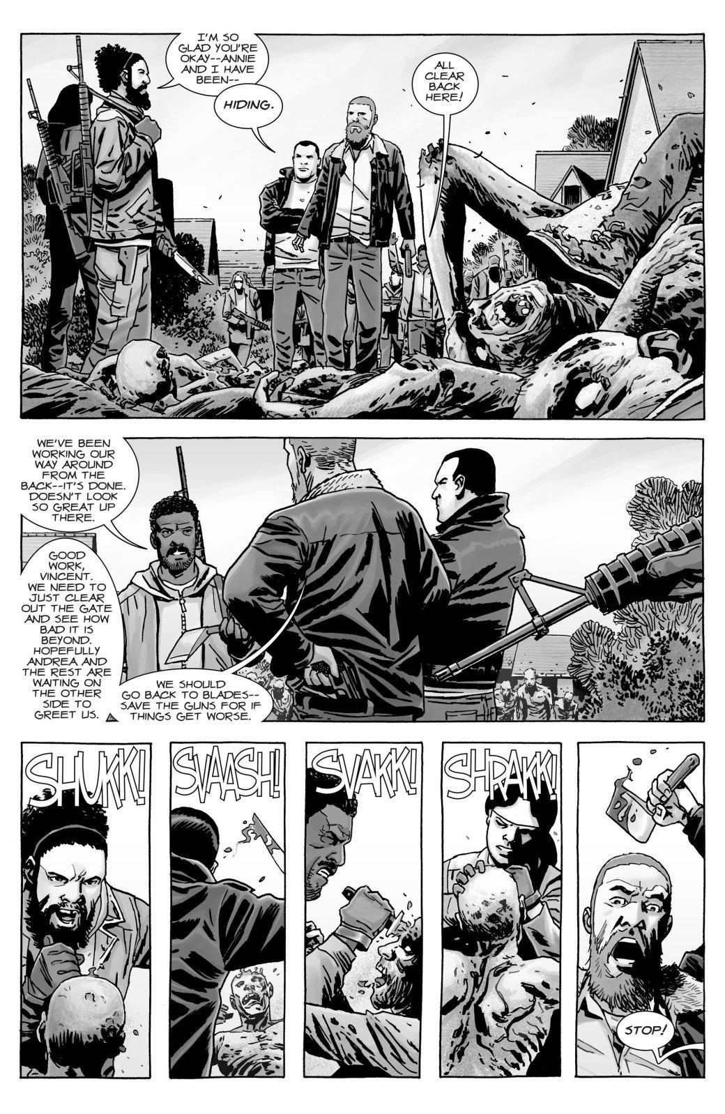 Кто погиб в новом номере комикса «Ходячие мертвецов»?   Канобу - Изображение 10764