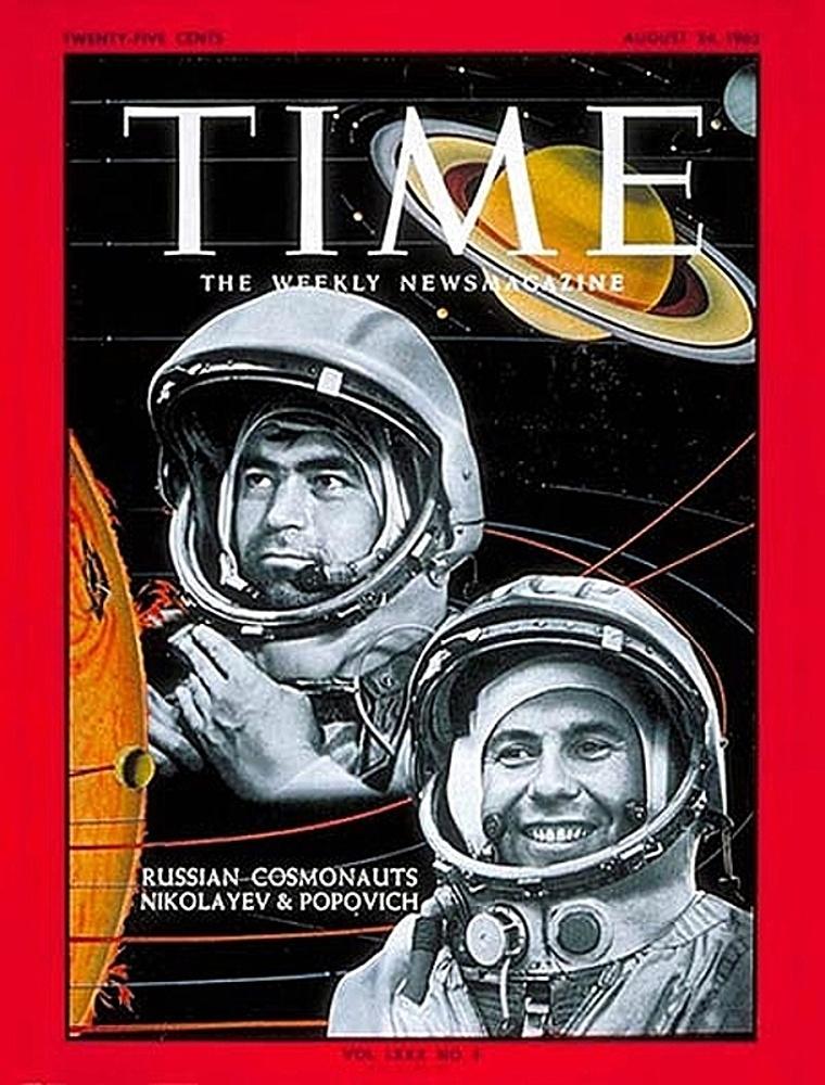 Американские обложки журналов про русских космонавтов | Канобу - Изображение 1