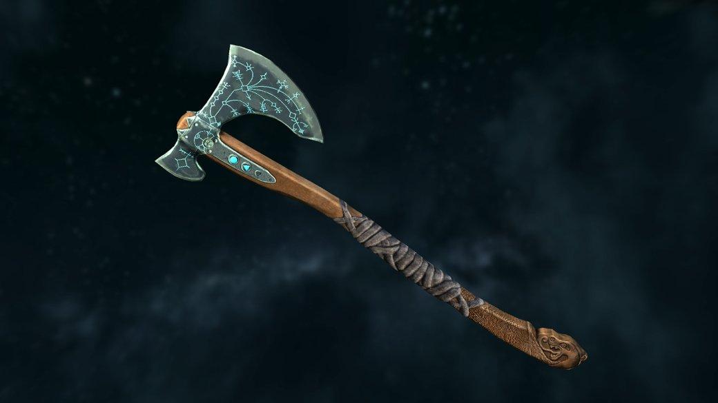 Благодаря моддерам вSkyrim появился топор Кратоса изновой God ofWar | Канобу - Изображение 9946