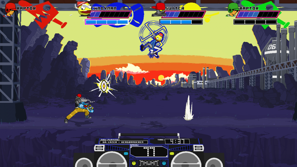 Робот сражается с бейсболистом в трейлере PC-файтинга Lethal League | Канобу - Изображение 8088