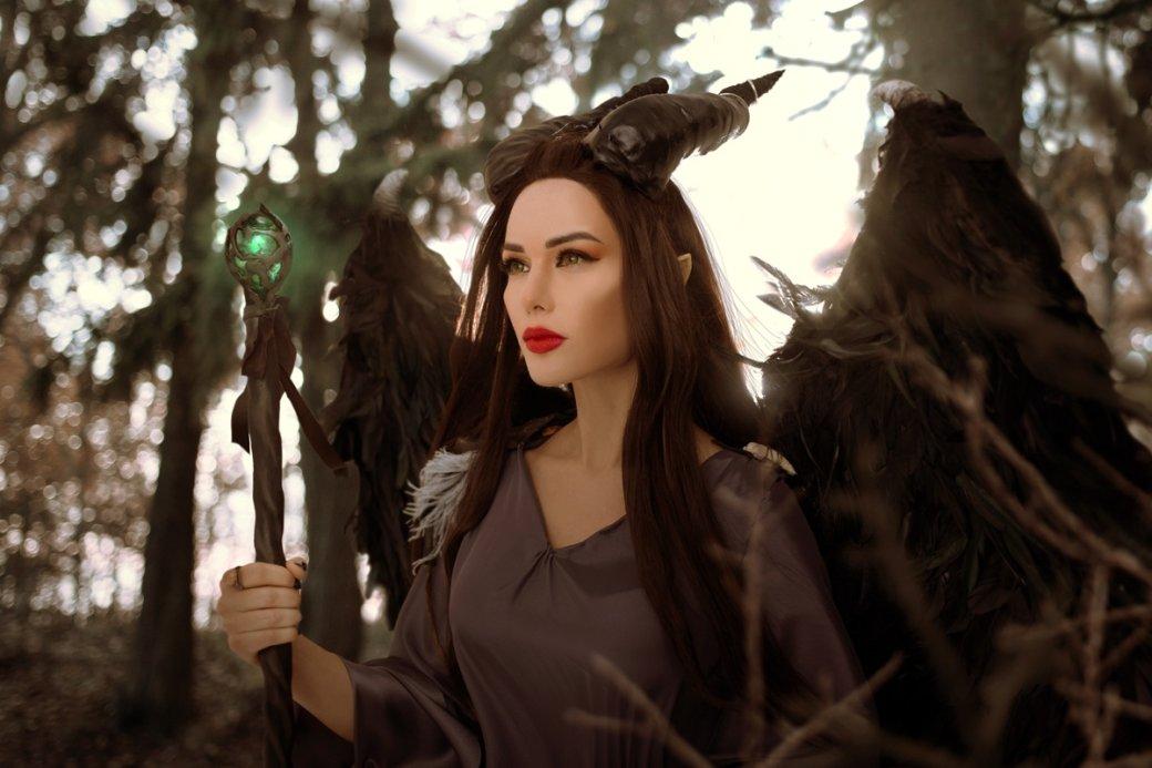 Очаровательная Малефисента в потрясающем косплее от Марины Ханны | Канобу - Изображение 4697
