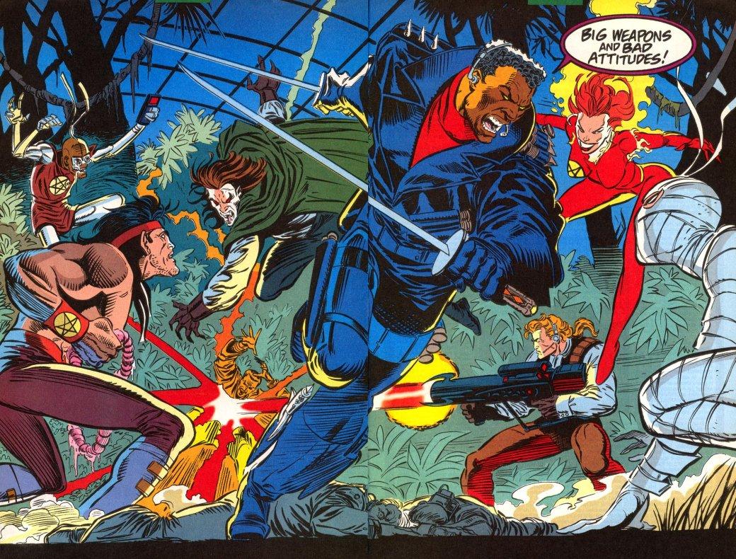 Кто такой Блэйд? Отохотника навампиров дочлена Мстителей исоюзника Людей Икс | Канобу - Изображение 144