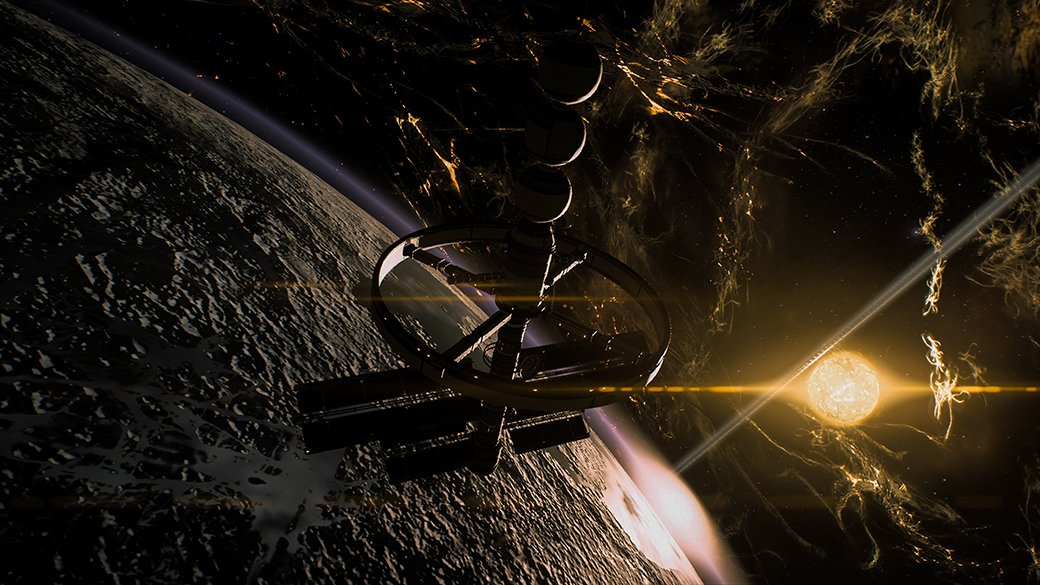 Потрясающий космос Mass Effect: Andromeda   Канобу - Изображение 9896