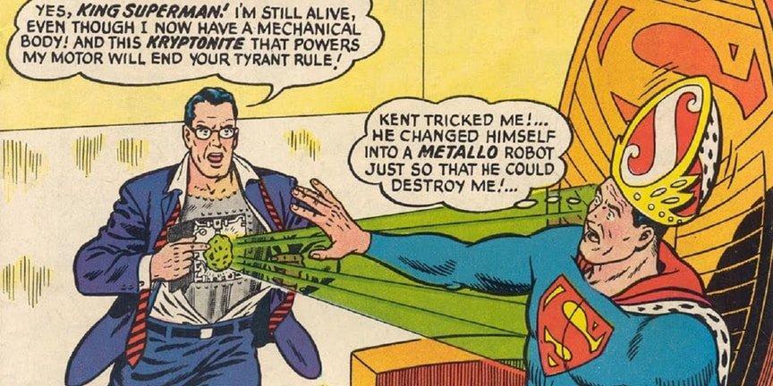 15 самых странных трансформаций Супермена  | Канобу - Изображение 5